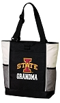 Iowa State Grandma Tote Bag White Accents