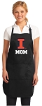 Official University of Illinois Mom Apron Black