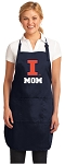 Official University of Illinois Mom Aprons Navy