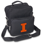 University of Illinois Small Utility Messenger Bag or Travel Bag