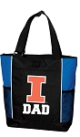 University of Illinois Dad Tote Bag Roy