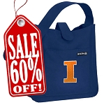 University of Illinois Small Shoulder Bag