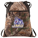 JMU RealTree Camo Cinch Pack