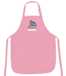 JMU Grandma Apron Pink - MADE in the USA!