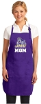 JMU Mom Apron Purple - MADE in the USA!