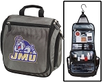 James Madison University Toiletry Bag or JMU Shaving Kit Gray