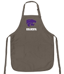 Official K-State Grandpa Apron Tan