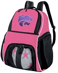 Girls Kansas State Soccer Backpack or K-State Volleyball Bag