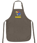 Official KU Grandma Apron Tan