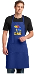 University of Kansas Dad Large Apron Royal