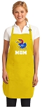 Deluxe University of Kansas Mom Apron - MADE in the USA!