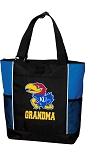 University of Kansas Grandma Tote Bag Roy