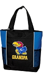 University of Kansas Grandpa Tote Bag Roy