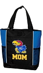 University of Kansas Mom Tote Bag Roy