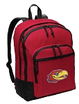 University of Kansas Backpack CLASSIC STYLE Red