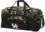 Official Womens University of Kentucky Camo Duffel Bags