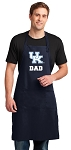 University of Kentucky Dad Apron LARGE Navy