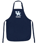 University of Kentucky Grandma Apron Navy