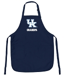 University of Kentucky Grandpa Apron Navy