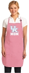 University of Kentucky Mom Apron Pink - MADE in the USA!