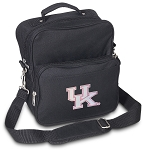 Pink UK Wildcats Logo Small Utility Messenger Bag or Travel Bag
