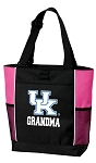 University of Kentucky Grandma Tote Bag Pink