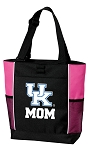 University of Kentucky Mom Tote Bag Pink