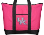 Deluxe Pink University of Kentucky Tote Bag Pink UK Logo