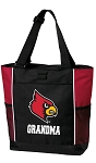 University of Louisville Grandma Tote Bag Red