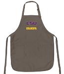 Official LSU Grandpa Apron Tan