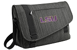 LSU Messenger Laptop Bag Stylish Charcoal