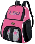 Girls LSU Soccer Backpack or LSU Tigers Volleyball Bag