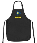 Official McNeese State Grandma Apron Black