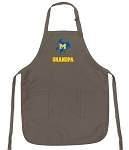 Official McNeese State University Grandpa Apron Tan