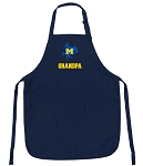 Official McNeese State Grandpa Aprons Navy