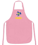 Deluxe McNeese State Grandma Apron Pink - MADE in the USA!