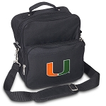 University of Miami Small Utility Messenger Bag or Travel Bag
