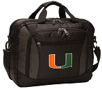 University of Miami Laptop Messenger Bags