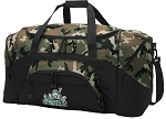 Official Michigan State University Peace Frog Camo Duffel Bags