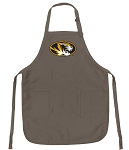 Official Mizzou Logo Apron Tan