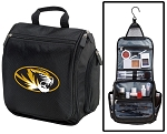 University of Missouri Toiletry Bag or Mizzou Shaving Kit Travel Organizer for Men