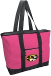 Deluxe Pink University of Missouri Tote Bag