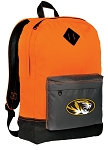Mizzou Backpack HI VISIBILITY Orange University of Missouri CLASSIC STYLE