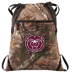 Missouri State RealTree Camo Cinch Pack