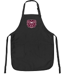 Official Missouri State University Apron Black