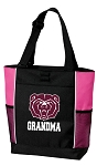 Missouri State University Grandma Tote Bag Pink