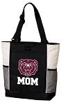 Missouri State University Mom Tote Bag White Accents