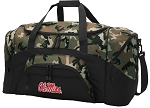 Official Ole Miss Camo Duffel Bags