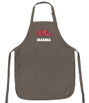 Official University of Mississippi Grandma Apron Tan