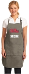 Official University of Mississippi Mom Apron Tan